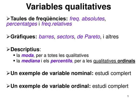 Variables qualitatives