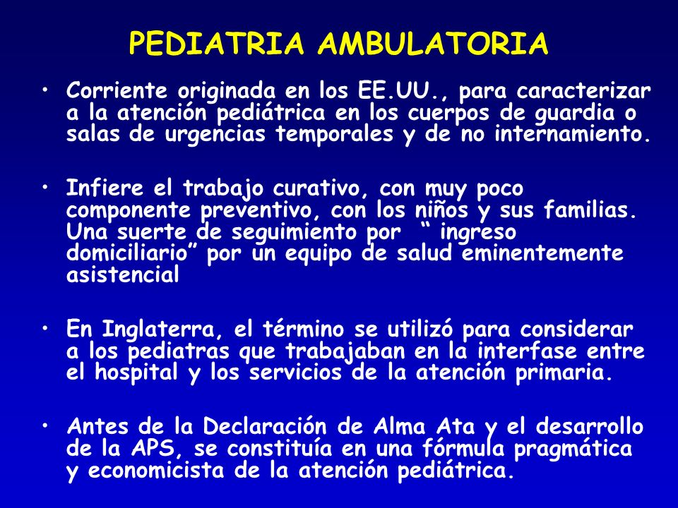 PEDIATRIA AMBULATORIA
