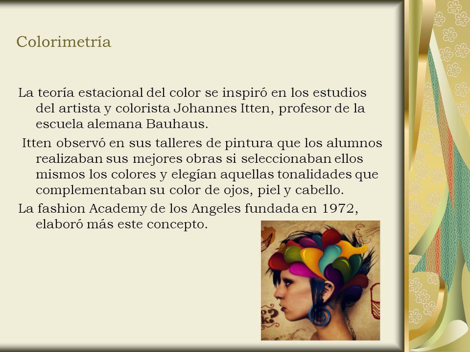 La teoría estacional del color - ppt video online descargar