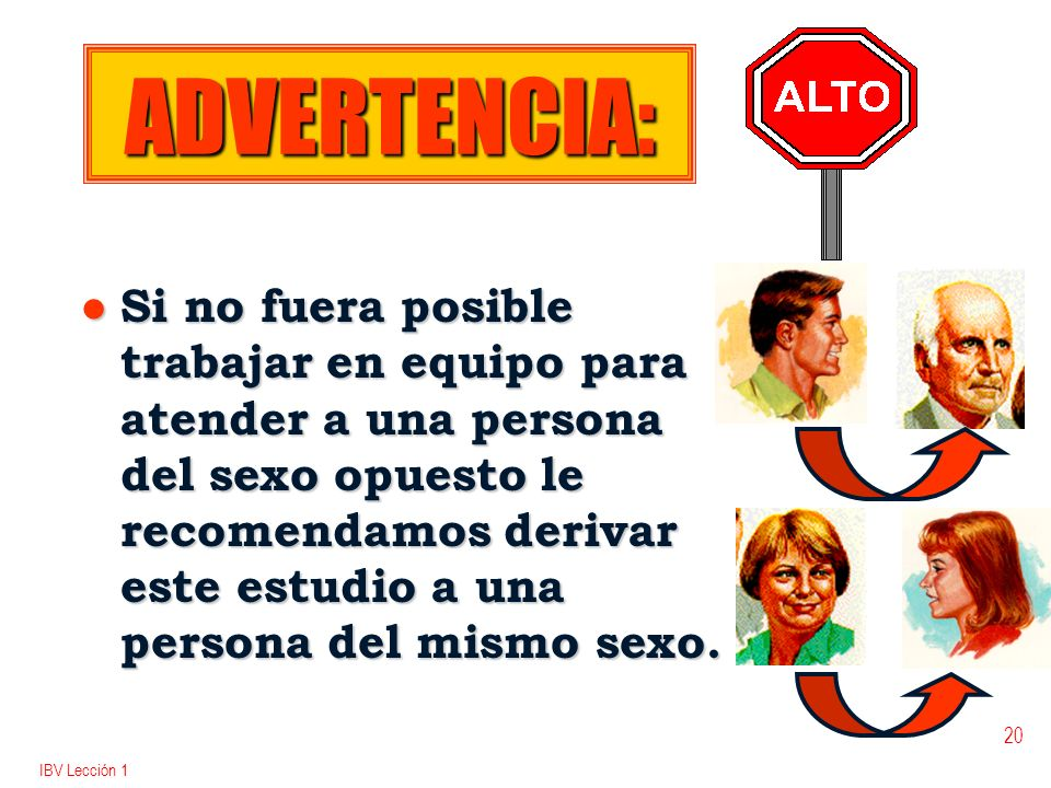 ADVERTENCIA:
