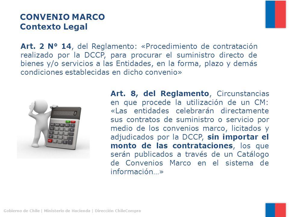 Procedimientos de contratación Convenios Marco y Trato Directo - ppt ...