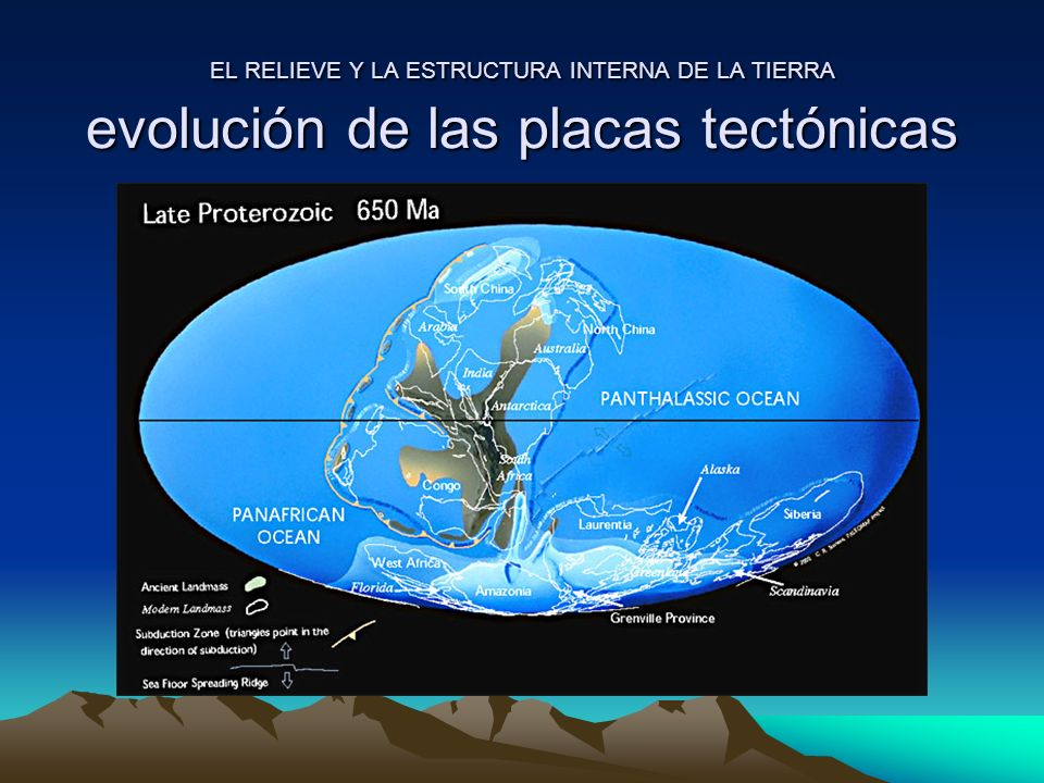 El Relieve Y La Estructura Interna De La Tierra Ppt Video