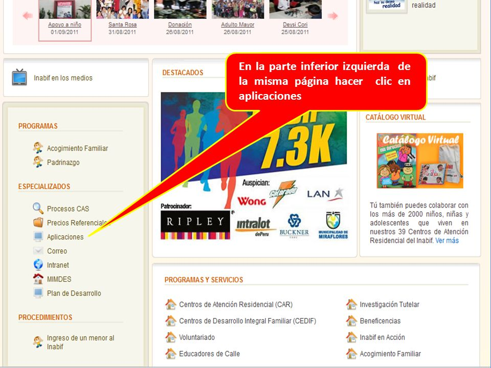 UGDIFPV SIRFAM Manual del Usuario SISTEMA DE REGISTRO FAMILIAR - ppt ...