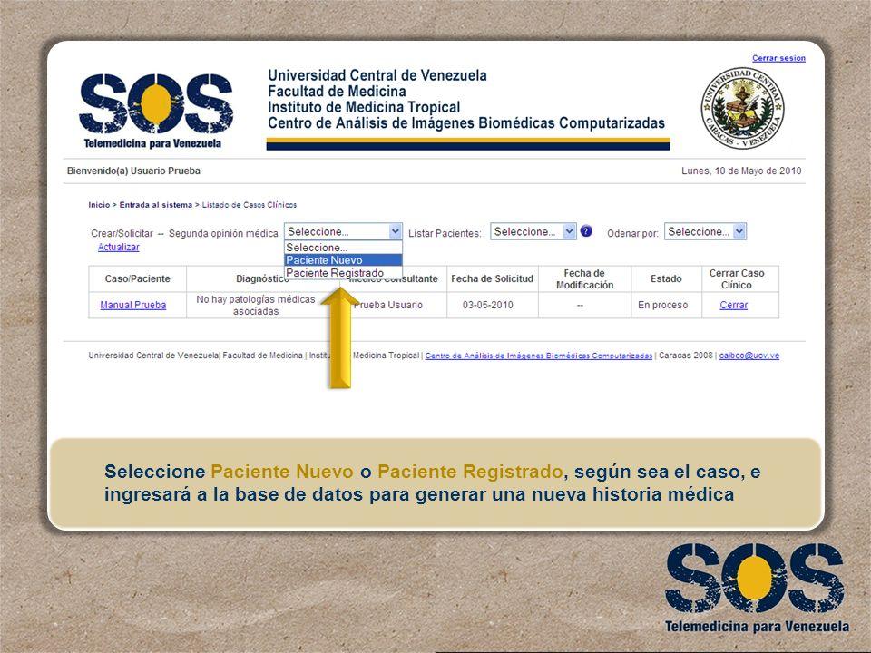 Universidad Central de Venezuela Instituto de Medicina Tropical ...