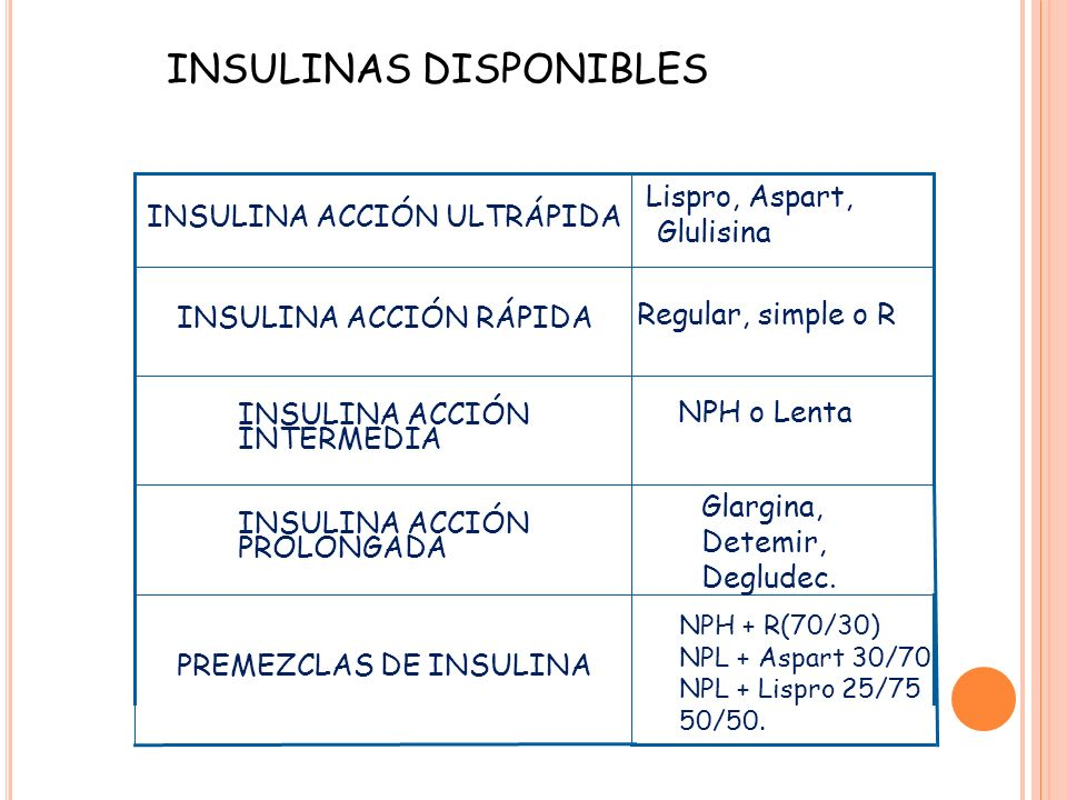 tratamiento con insulina en la diabetes mellitus tipo 2