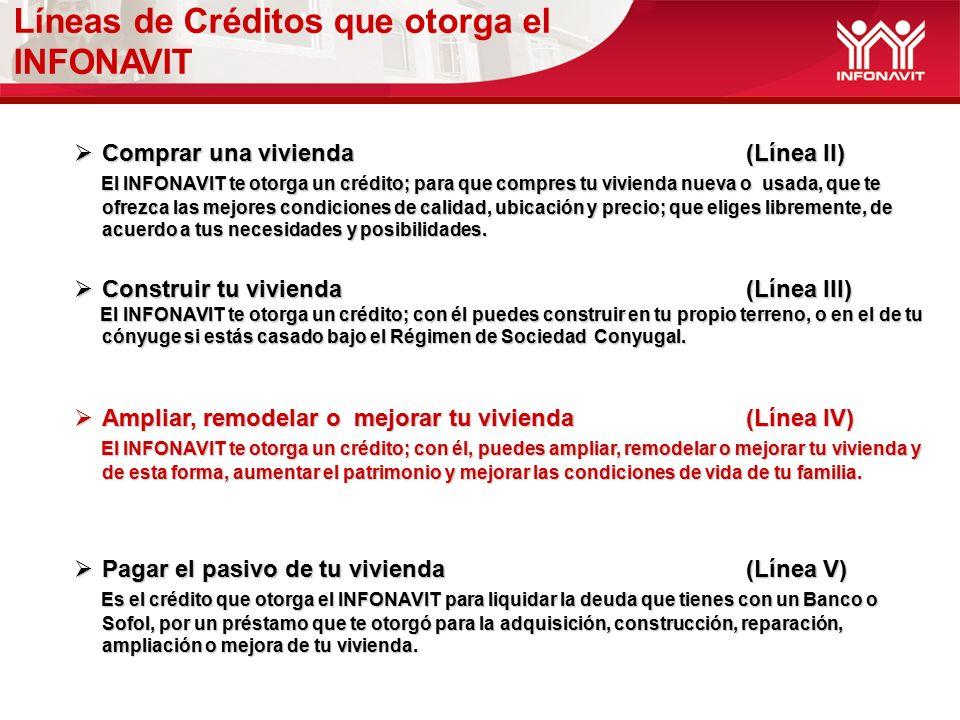 0060c697824c Destinos y Tipos de Crédito INFONAVIT - ppt descargar