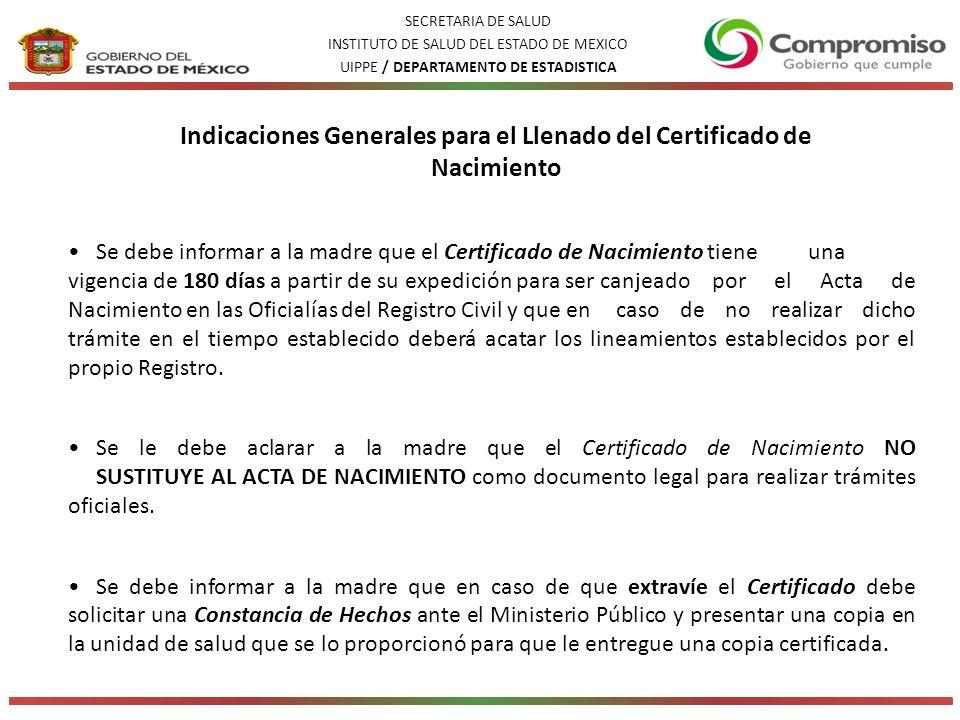 Subsistema de Información sobre Nacimientos - ppt descargar