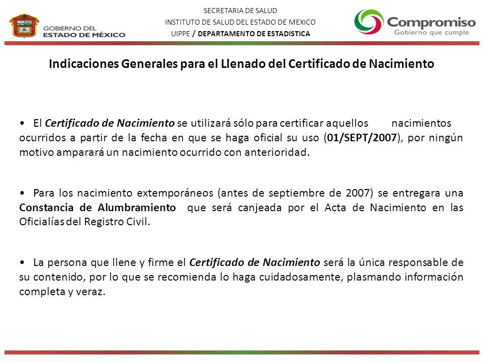 Excelente Nso Nacimiento Problemas De Certificado Modelo ...