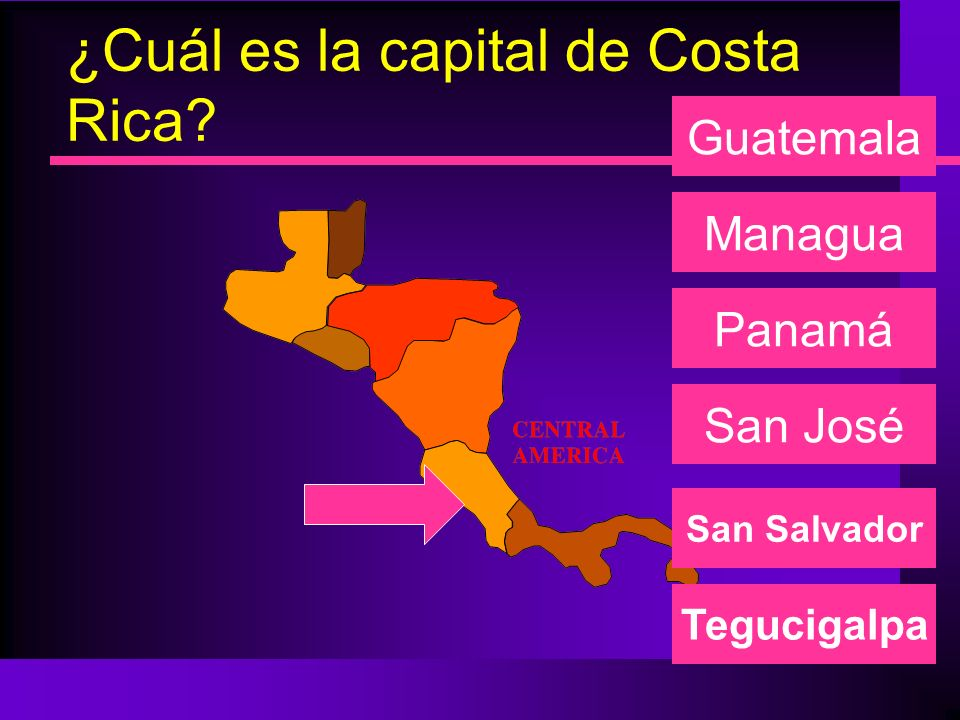 ¿Cuál es la capital de Costa Rica