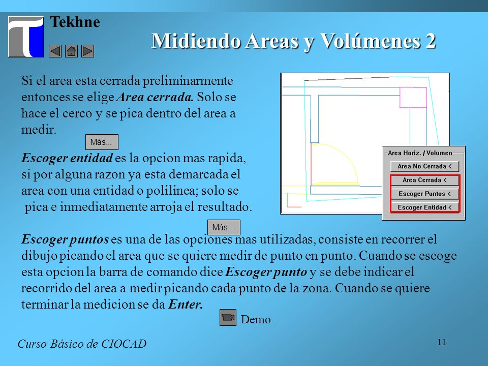 Midiendo Areas y Volúmenes 2