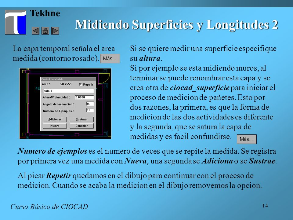 Midiendo Superficies y Longitudes 2