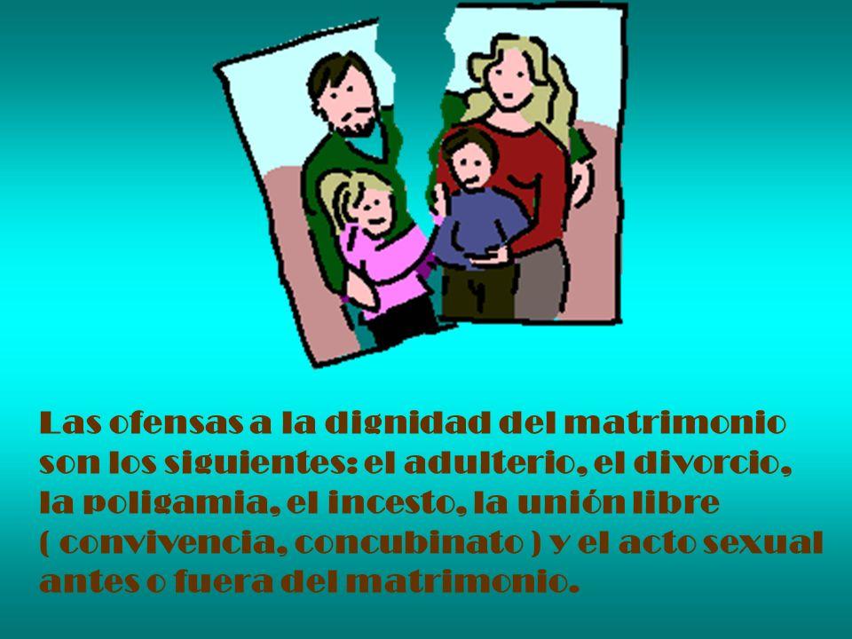 Matrimonio Catolico Divorcio : No cometerÁs adulterio actos impuros ppt