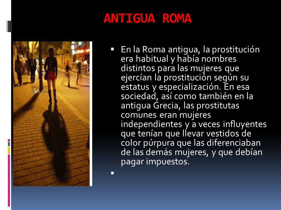 prostitutas callejeros prostitutas en la antigua roma
