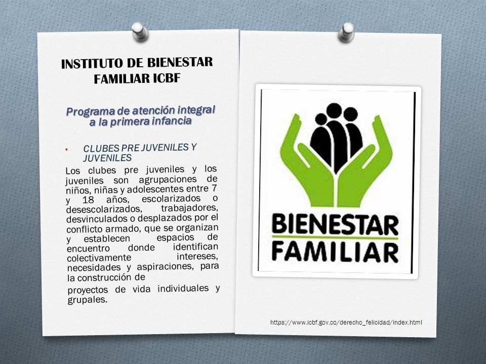 INSTITUTO DE BIENESTAR FAMILIAR ICBF