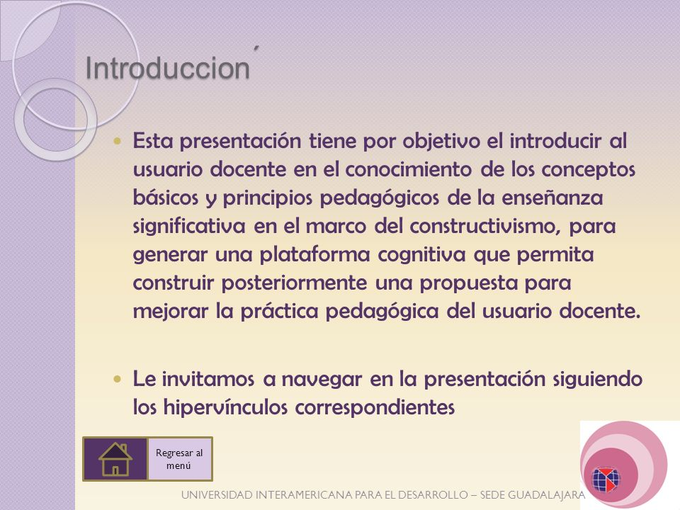 ´ Introduccion.