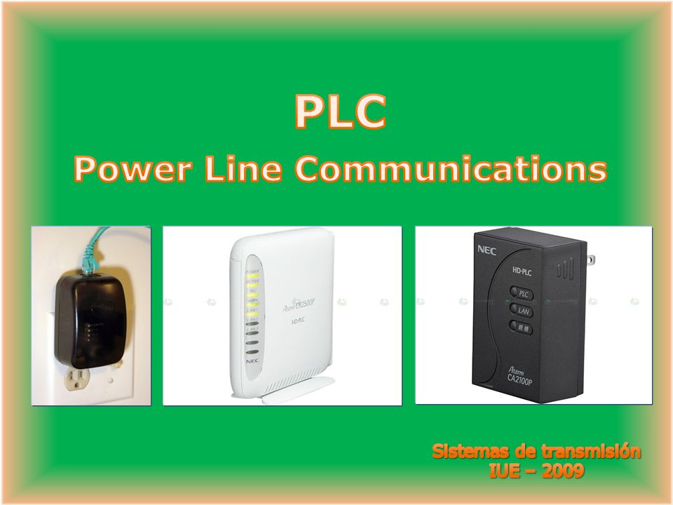 PLC Power Line Communications
