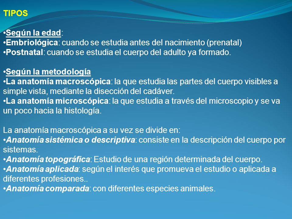 Anatomia y fisiologia humana - ppt video online descargar