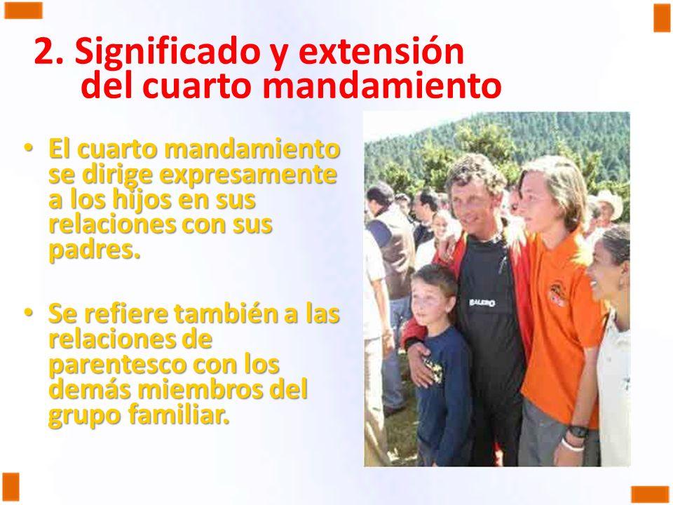 33. EL CUARTO MANDAMIENTO DEL DECÁLOGO: HONRAR PADRE Y MADRE - ppt ...