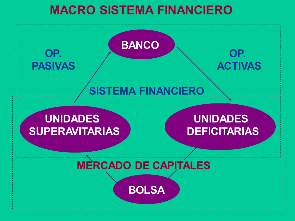 MACRO SISTEMA FINANCIERO