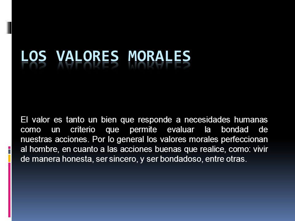 01735cf0af0f LOS VALORES MORALES. - ppt descargar