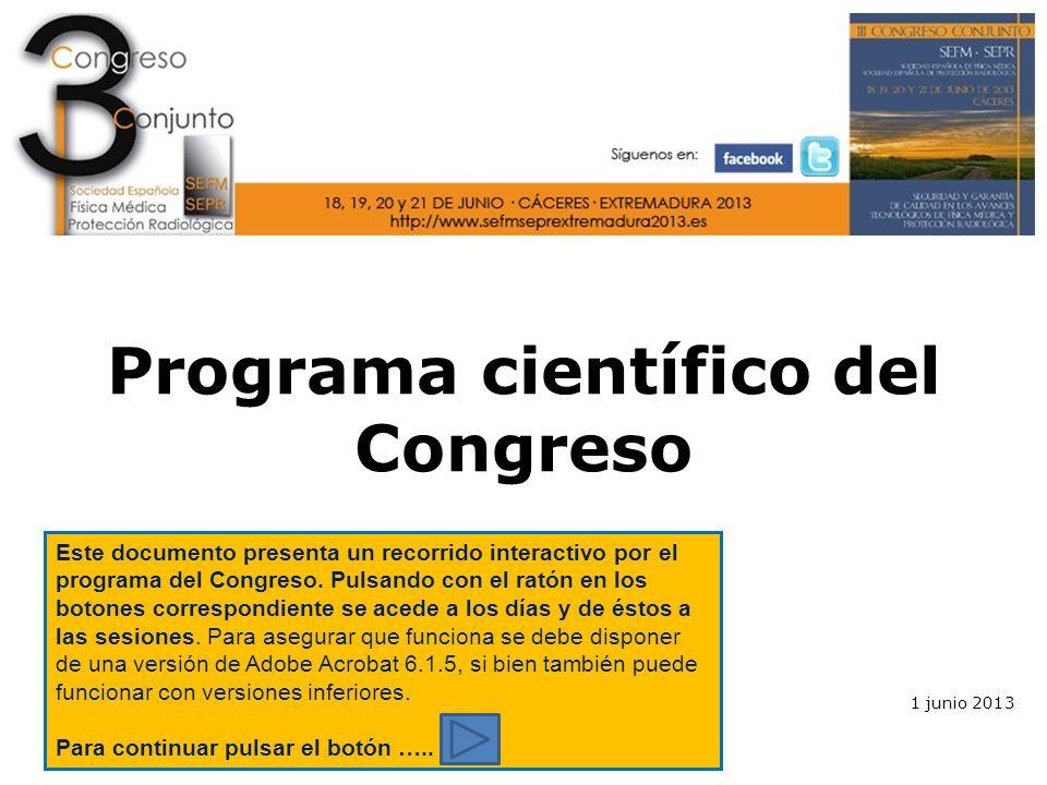Programa científico del Congreso - ppt descargar