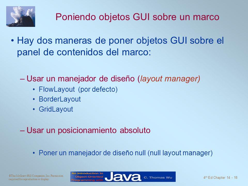 Programando GUI y Eventos - ppt descargar