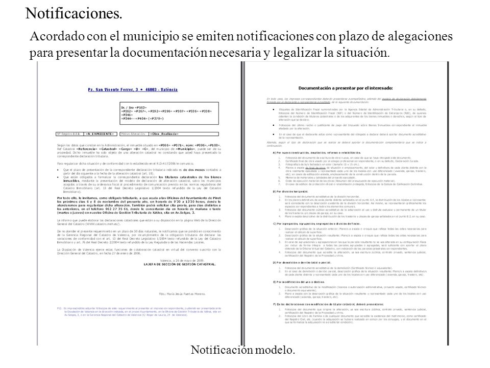 Notificaciones.