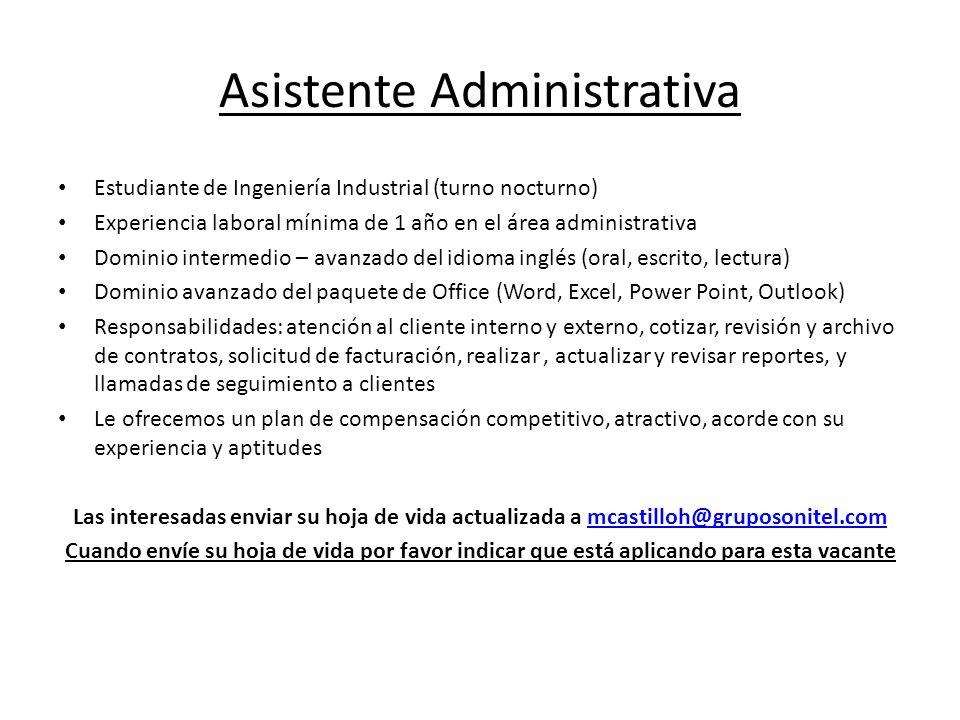 Encantador Experiencia Administrativa Modelo - Colección De ...