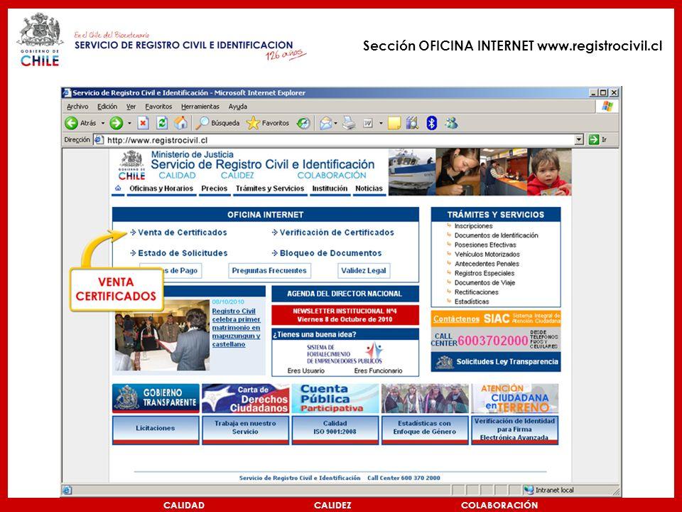Nuevo certificado de antecedentes por internet ppt video online descargar - Verti es oficina internet ...