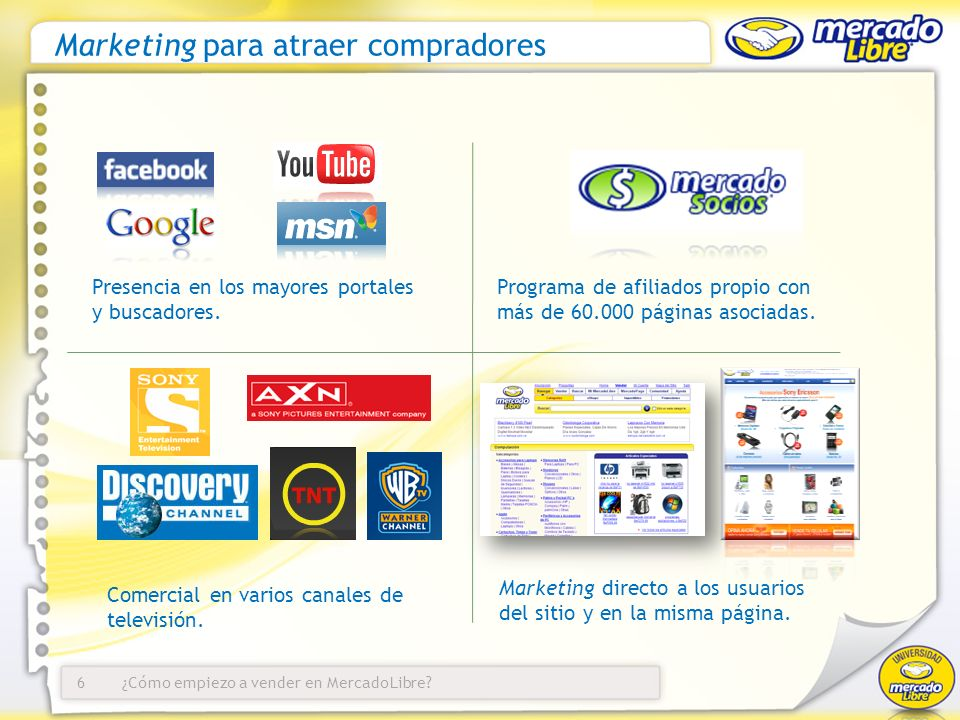 Marketing para atraer compradores