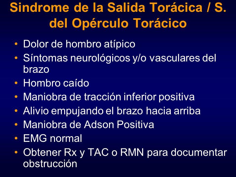 Contemporáneo Anatomía Del Síndrome De Salida Torácica Adorno ...
