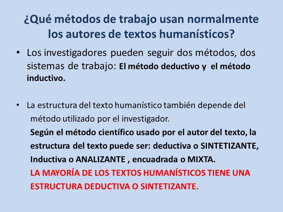 Cómo Son Los Textos Humanísticos Ppt Descargar