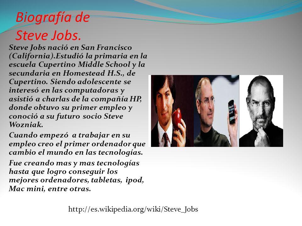 9f225e14bd4 Steve Jobs. El genio visionario y creativo cofundador de Apple ...