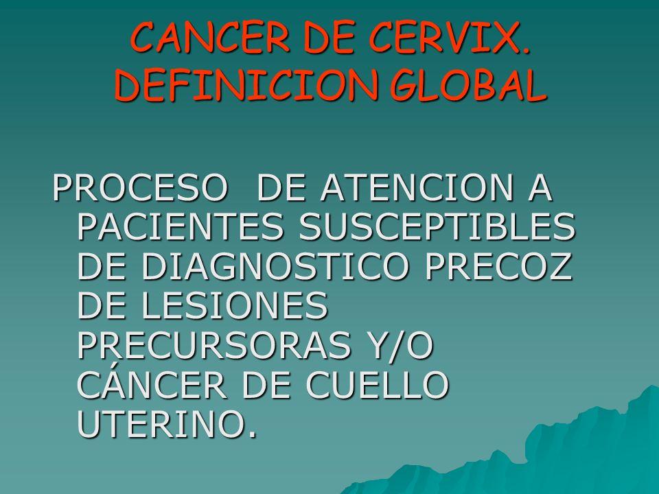 PROCESO ASISTENCIAL CANCER DE CERVIX - ppt video online descargar