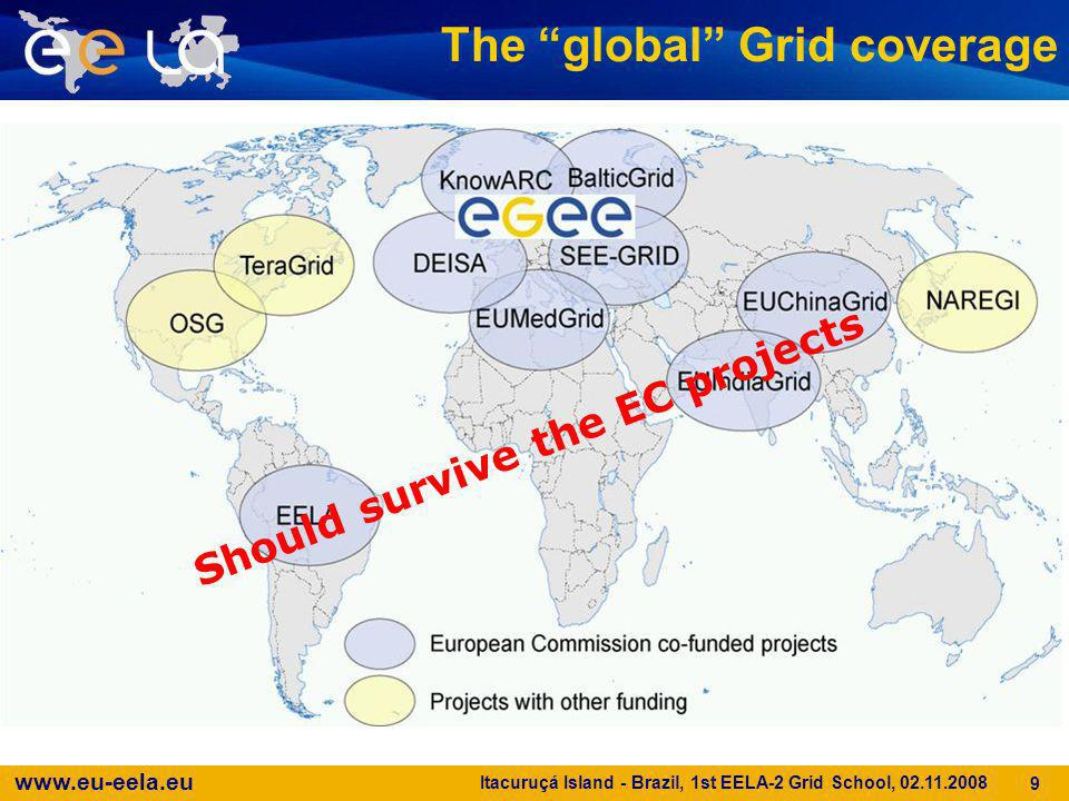 The global Grid coverage