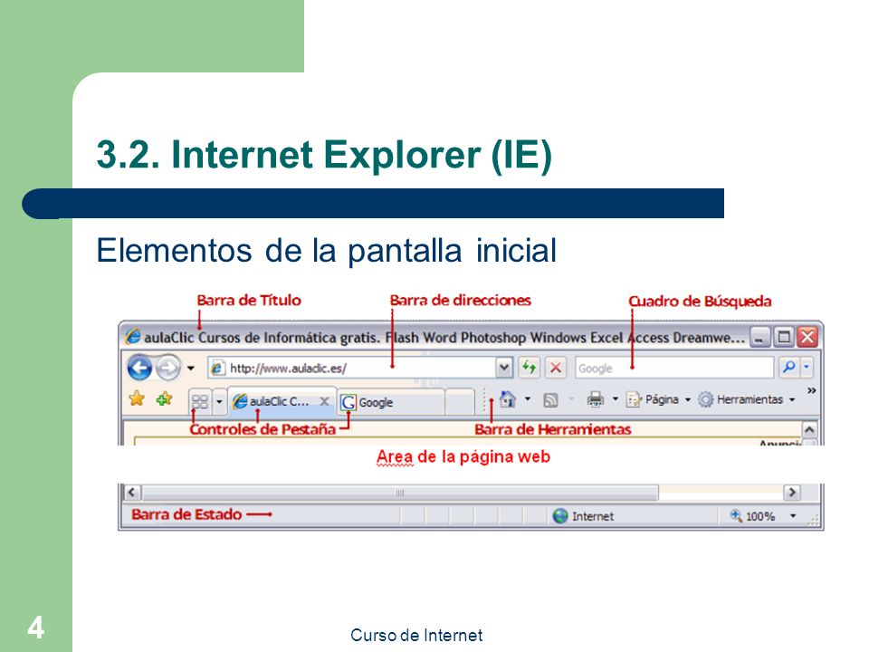 3.2. Internet Explorer (IE)