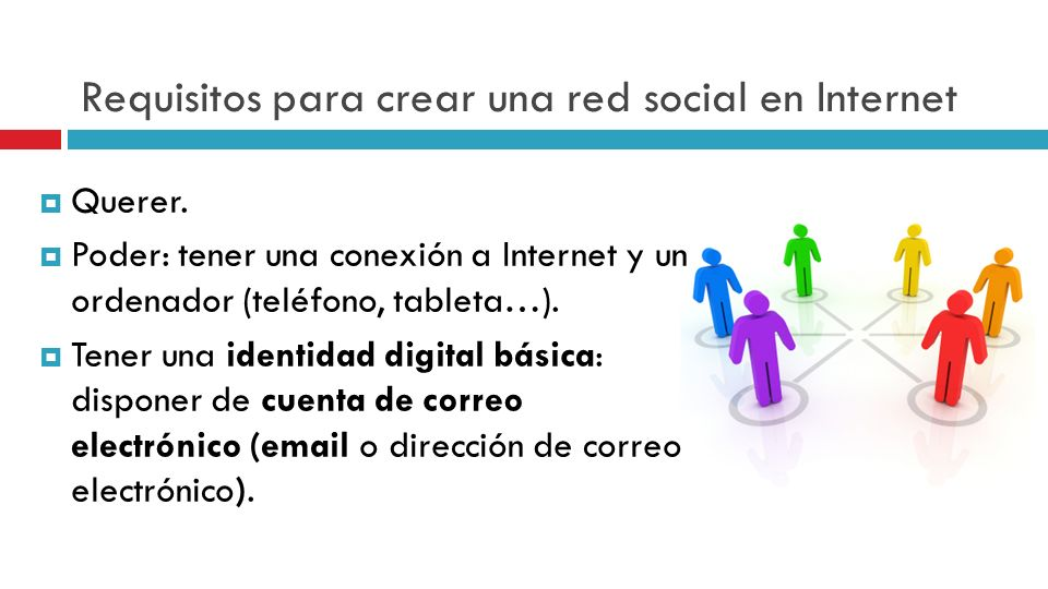 Requisitos para crear una red social en Internet