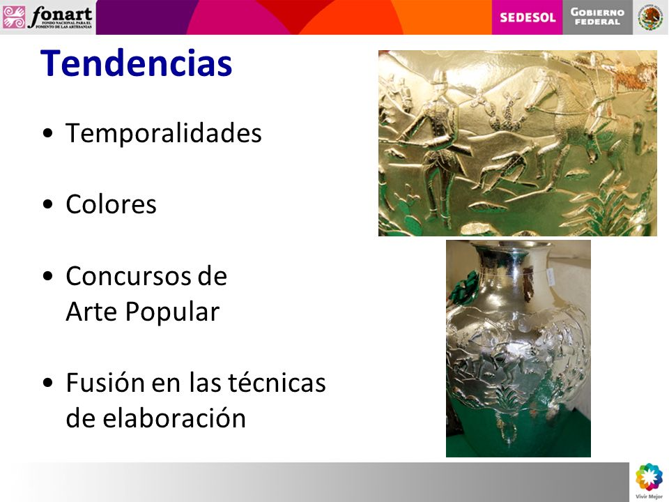 Tendencias Temporalidades Colores Concursos de Arte Popular