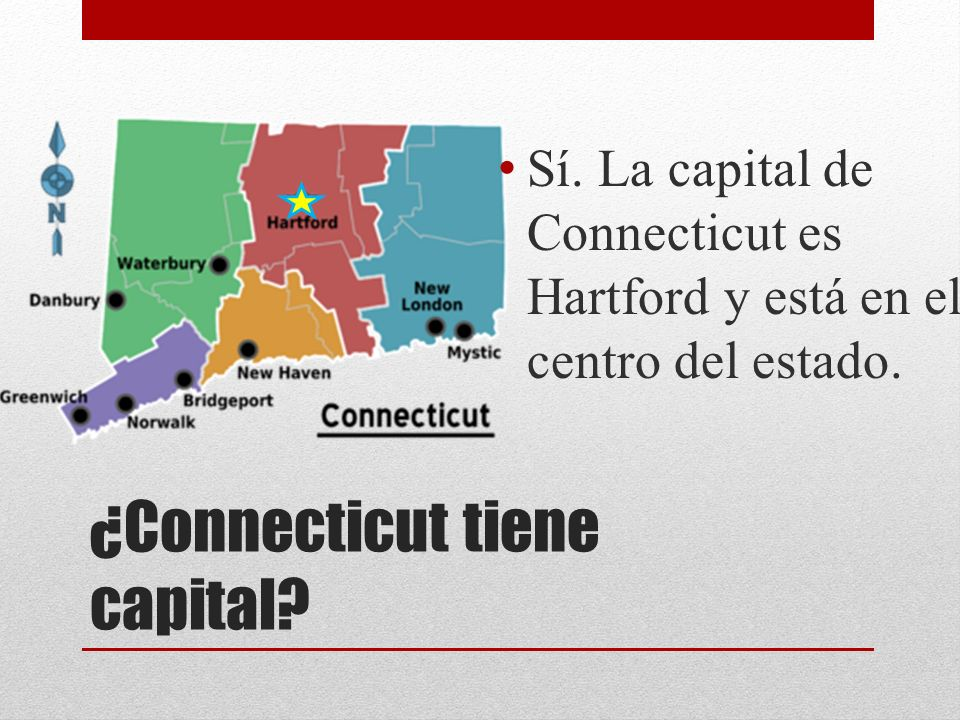 ¿Connecticut tiene capital