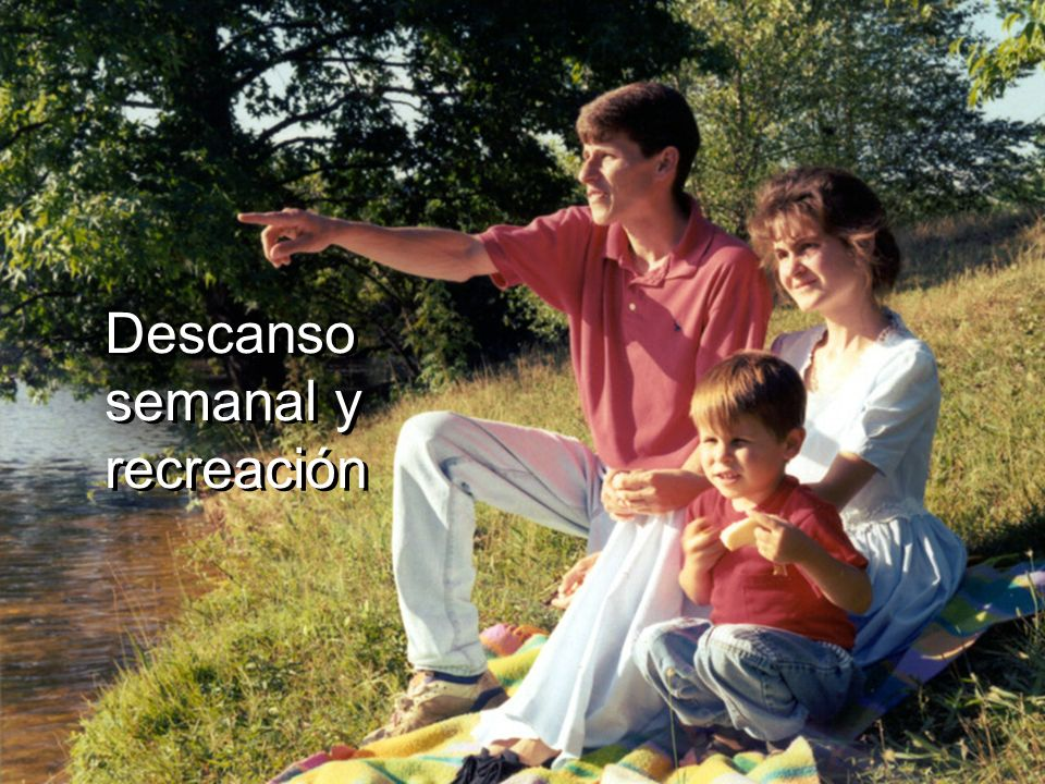 Descanso semanal y recreación