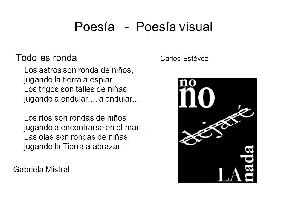 Poesía Visual Imagen Y Palabra Ppt Descargar