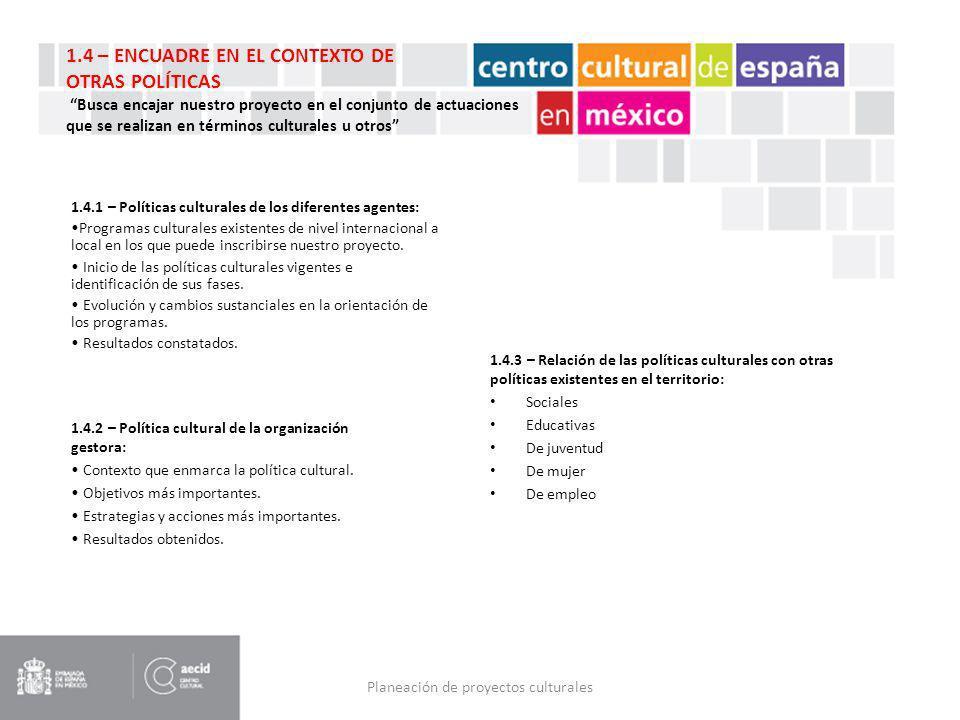 Planeación de proyectos culturales - ppt descargar