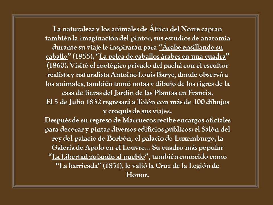 Eugène DELACROIX ( ) II Presentado por LORALIX. - ppt descargar