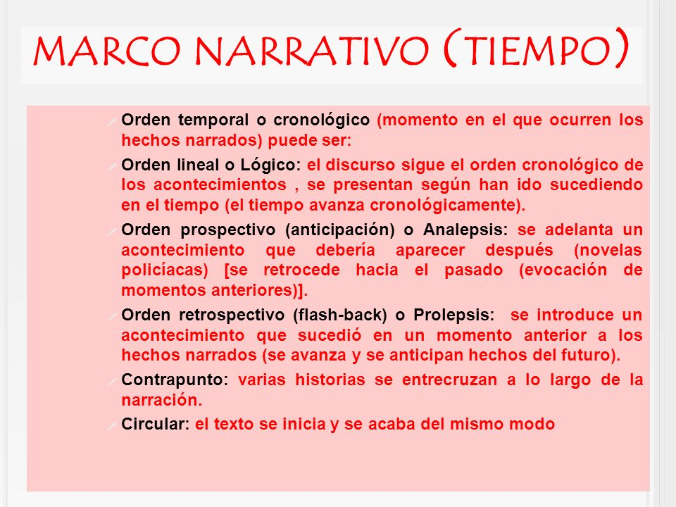 Atractivo Definición Del Marco Narrativo Imágenes - Ideas ...