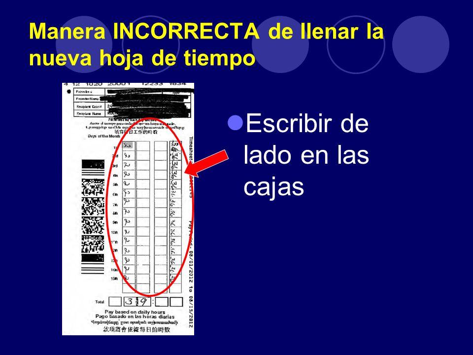 Nuevas Hojas de Tiempo & Proceso de pagos para Proveedores de IHSS ...
