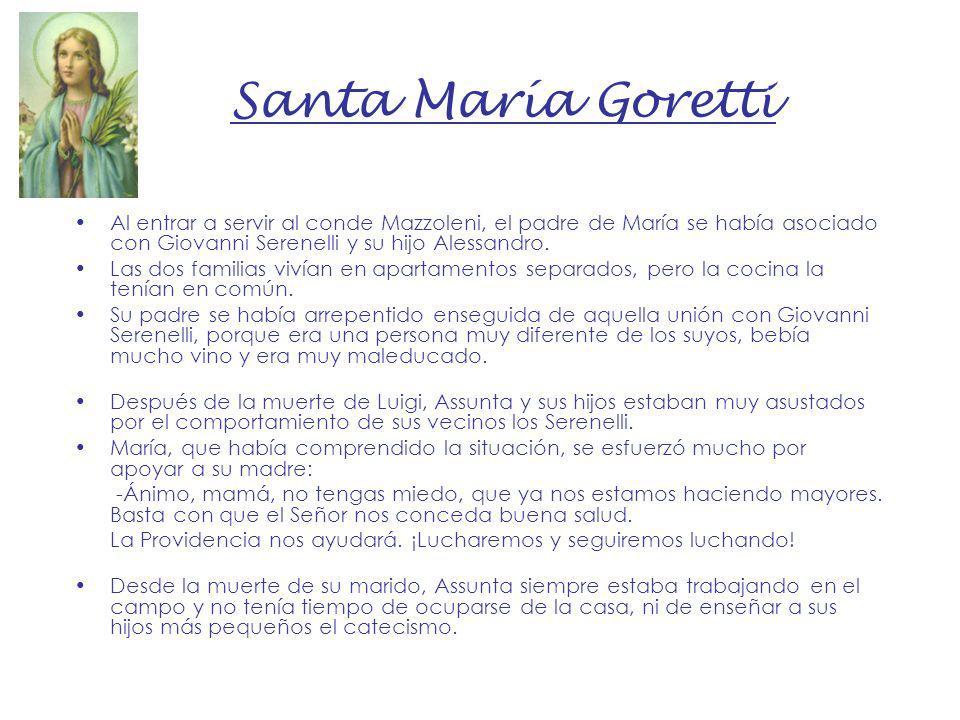 NIÑOS SANTOS Santa María Goretti Santo Domingo Savio - ppt descargar