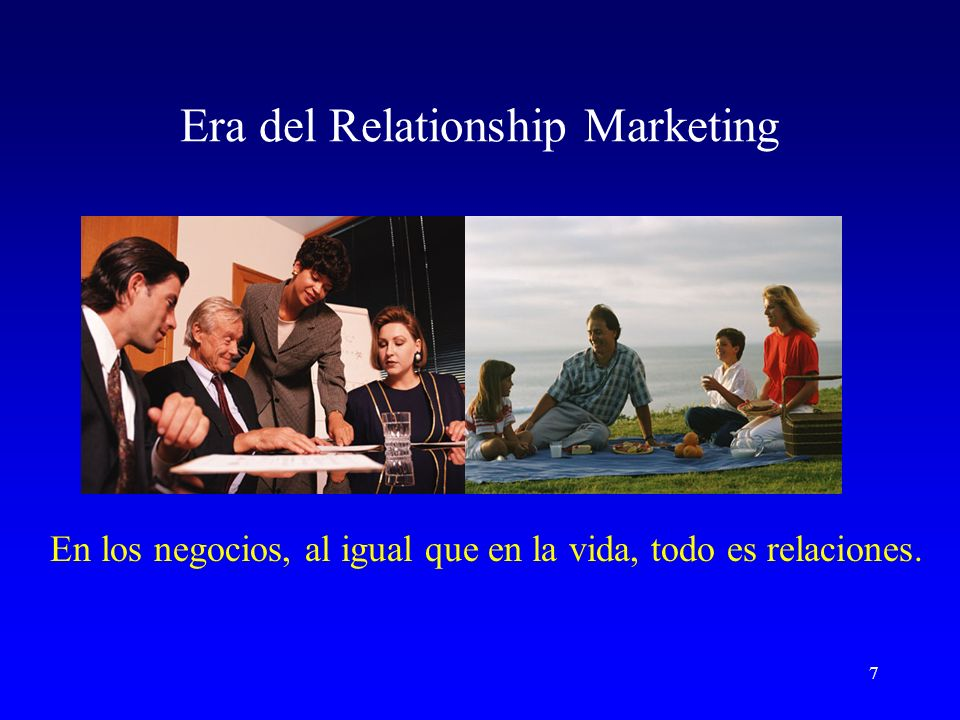 Era del Relationship Marketing