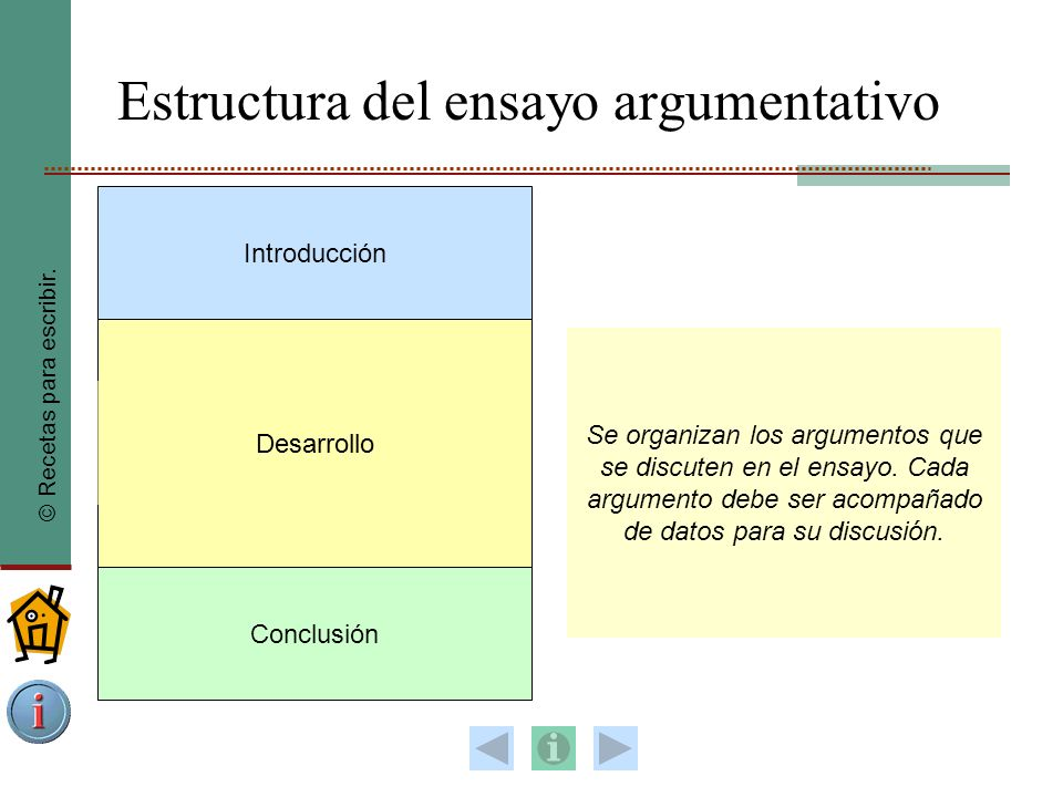 El Ensayo Argumentativo Ppt Video Online Descargar
