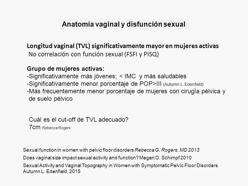 Impacto de la cirugía del suelo pélvico en la función sexual - ppt ...