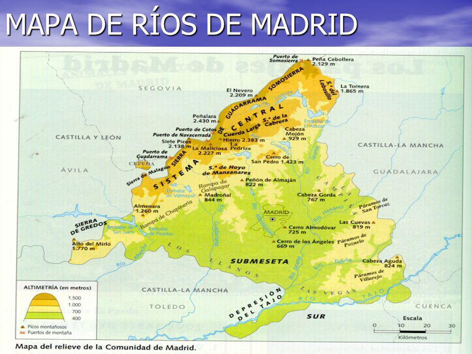 Rios Y Embalses De La Comunidad De Madrid Ppt Video Online Descargar